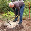 Make A Tree Stump Planter _3