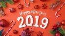 آغاز سال 2019 میلادی مبارک باد